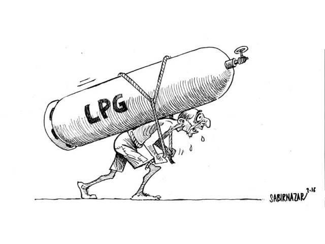 pakistan lpg cartoon