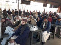 راولپنڈی: ریل مزدور اتحاد کا لوکو شیڈ میں احتجاجی جلسہ