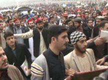 لاٹھی گولی کی سرکار نہیں چلے گی! پشاور یونیورسٹی کے طلبہ پر ریاستی تشدد نامنظور!