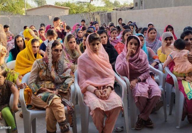 ضلع سجاول میں محنت کش خواتین کے عالمی دن کے موقع پر سیمینار کا انعقاد