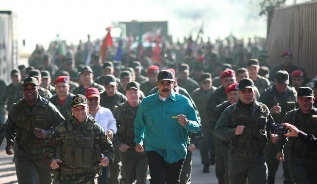 وینزویلا ایک بار پھر سامراجی یلغار کی زد میں