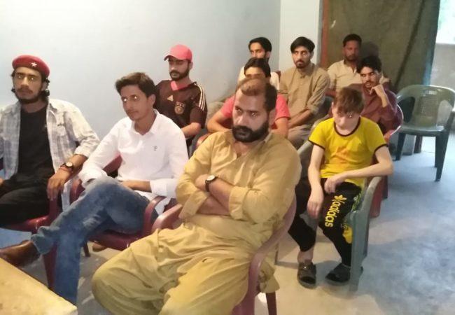 مظفرآباد میں ایک روزہ مارکسی سکول کا انعقاد
