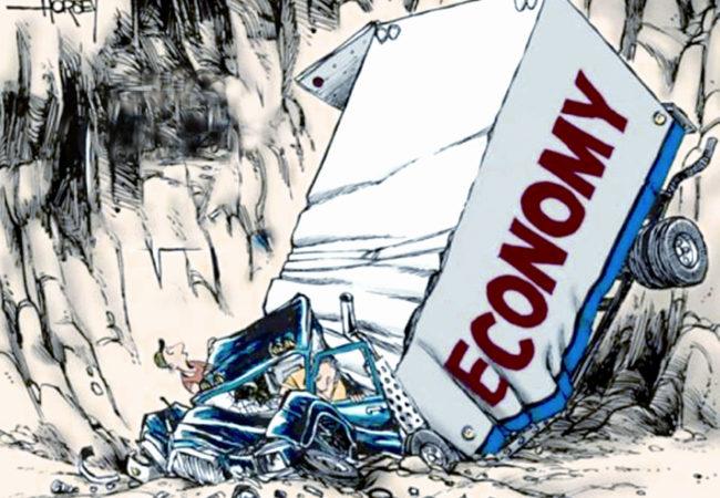 پاکستان: معیشت کی زوال پذیری
