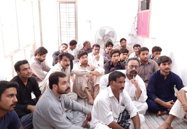 ڈیرہ غازی خان میں ایک روزہ مارکسی سکول کا انعقاد