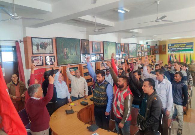 جموں اور فرید آباد (انڈیا) میں کامریڈ لال خان کو خراجِ عقیدت پیش کرنے کے لئے اجلاس