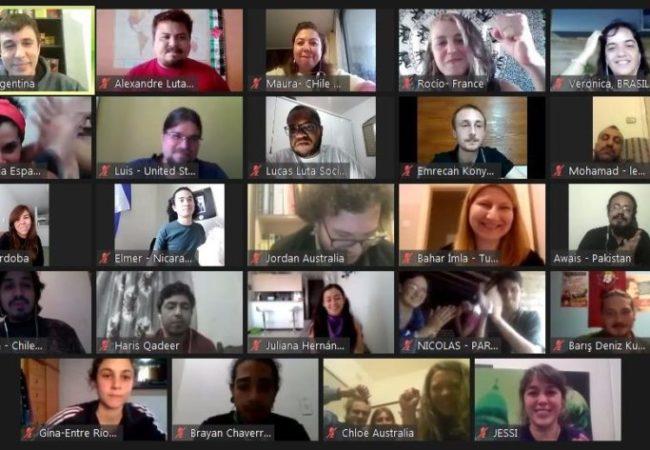 نوجوان سوشلسٹوں کی تاریخی بین الاقوامی کانفرنس: 5 براعظموں کے 30 سے زائد ممالک کی شرکت