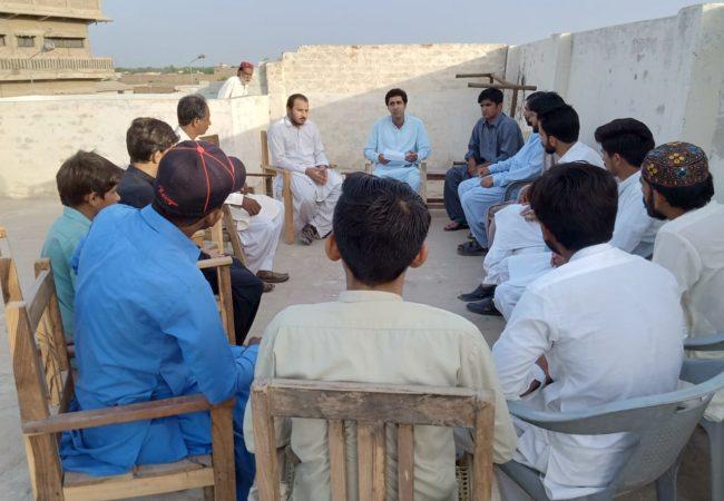 """جوہی: سٹڈی سرکل بعنوان """"پاکستان میں طبقاتی نظام تعلیم اور نوجوانوں کے مسائل"""""""