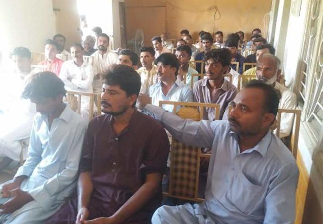 ٹنڈو غلام علی میں تعلیمی نظام پر لیکچر کا انعقاد