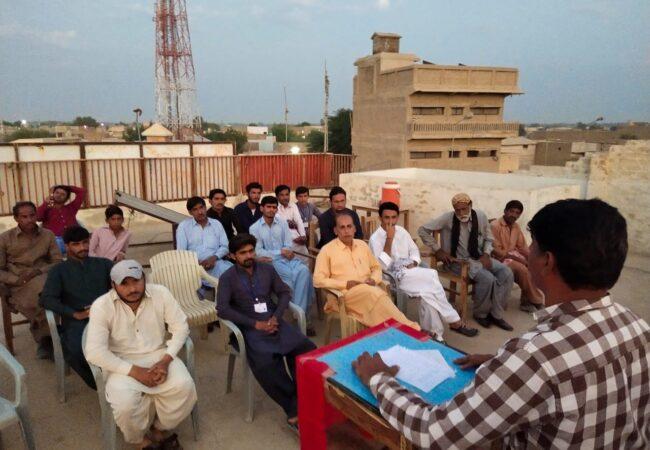 جوہی: 'پاکستان کی موجودہ صورتحال اور مزدوروں کی حالت زار' کے موضوع پر لیکچر پروگرام