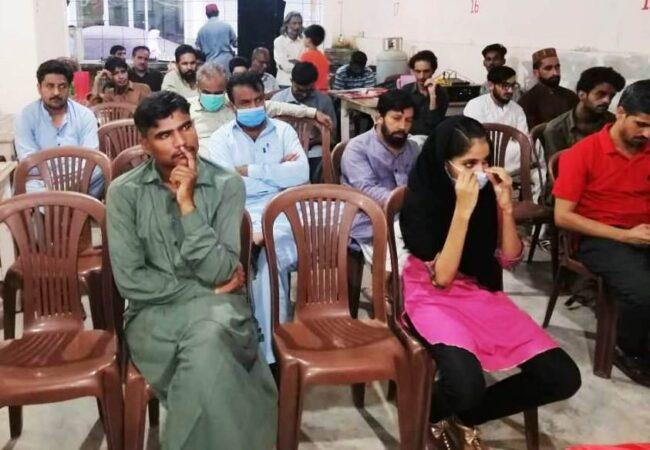 کراچی: 'فہیم اکرم شہید کی یاد میں اور مسئلہ کشمیر' کے عنوان سے سیمینار کا انعقاد