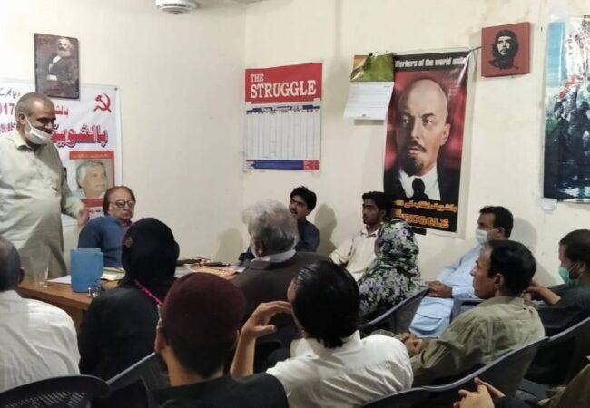 کراچی: بالشویک انقلاب کی 103ویں سالگرہ کے موقع پر تقریب کا انعقاد