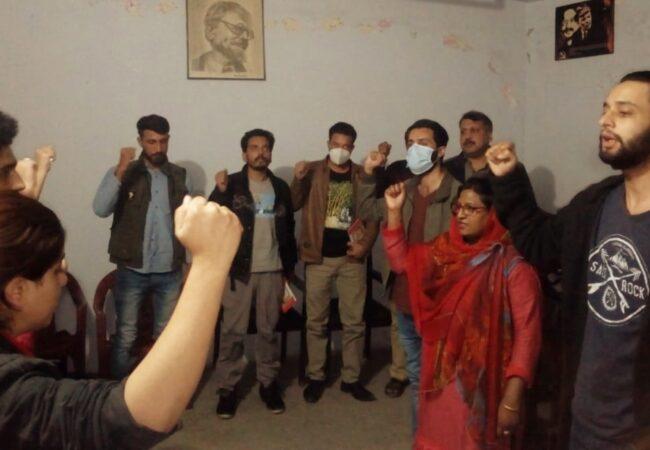 راولپنڈی: 'موجودہ عہد میں بالشویک انقلاب کی افادیت اور اہمیت' کے عنوان سے نشست کا انعقاد
