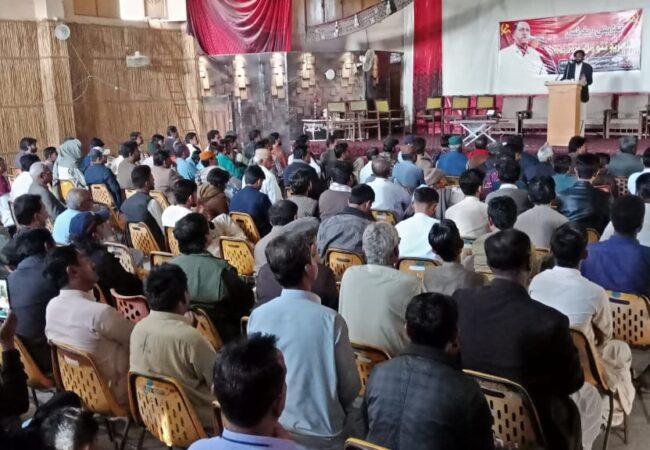 ٹنڈو غلام علی میں کامریڈ نتھو مل کی یاد میں تعزیتی ریفرنس
